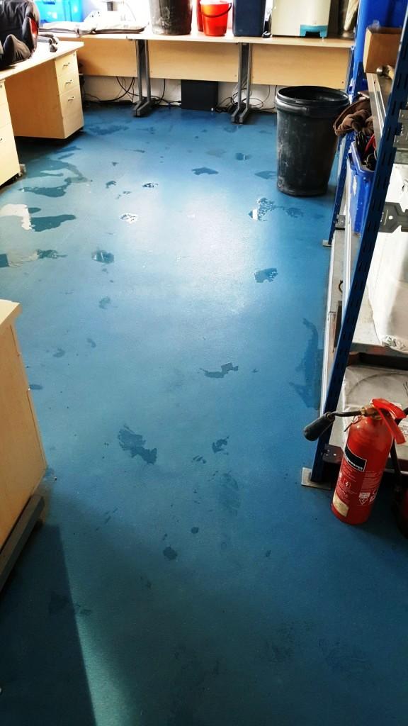 Farm Office Safety Flooring After Cleaning Saffron Walden
