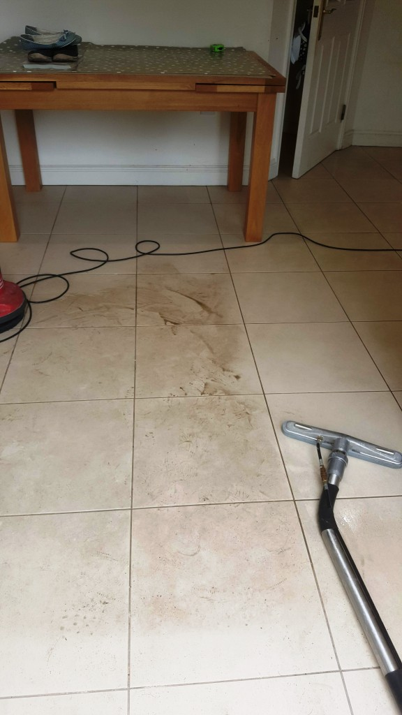 Textured Porcelain Tile Cleaning in Chelmsford